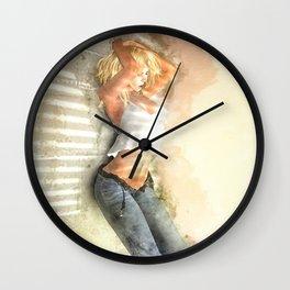 Let Loose Wall Clock