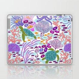 Rush Hour at the Reef - Ocean Life - Sea Life - Marine - beach  Laptop & iPad Skin