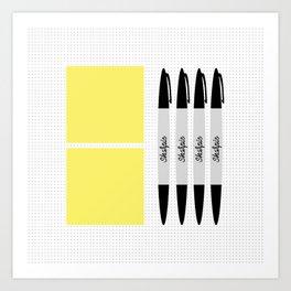 UX Design Toolkit Art Print