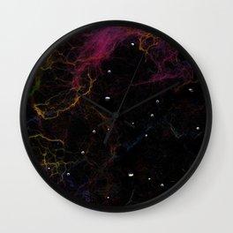 Abstract Nebula K1 Wall Clock