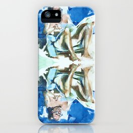 Sea sketches 4 iPhone Case