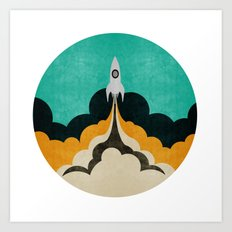 Spaceship XIX Art Print