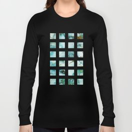 Marble Effect #1 Long Sleeve T-shirt