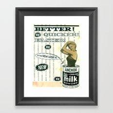 Better! Framed Art Print