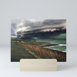 Storm on the Coast Mini Art Print