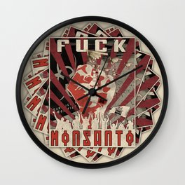 Pill Pushers Wall Clock