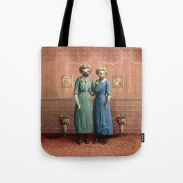 The Sloth Sisters at Home Tote Bag