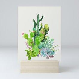 Cactus Garden II Mini Art Print
