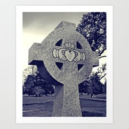 Northwest Claddagh Art Print