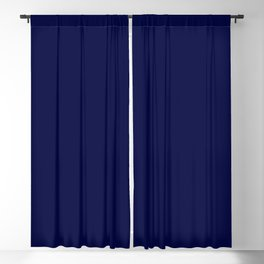 Moonlight Blue Blackout Curtain