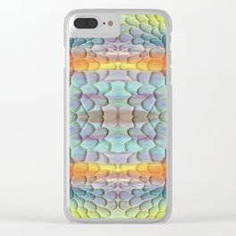 unicorn landscape Clear iPhone Case