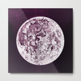 An Expired Planet Metal Print