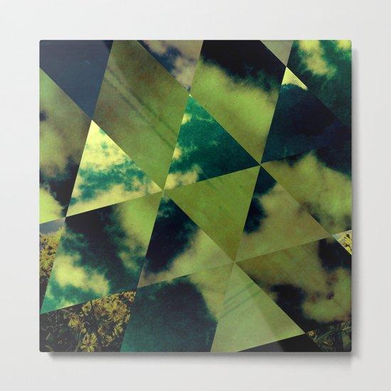 Partly Cloudy Skies Metal Print