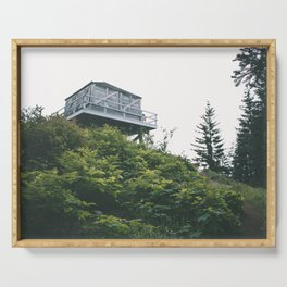 Oregon Fire Lookout Serving Tray