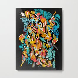 Organa Metal Print