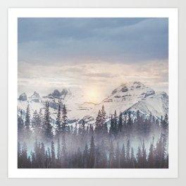 Pastel vibes 16 Art Print