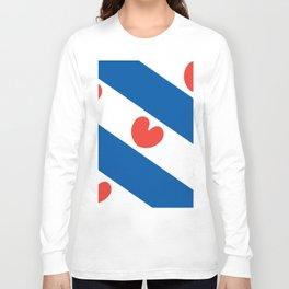 Flag of Friesland Long Sleeve T-shirt