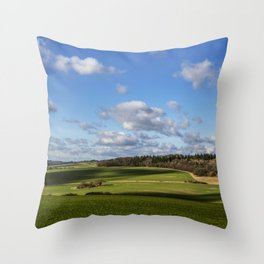 Views of Wiltshire. Throw Pillow