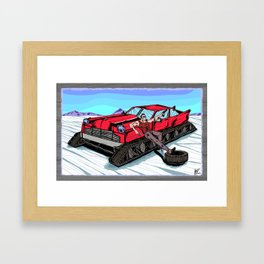 All Terrain: Tundra Framed Art Print