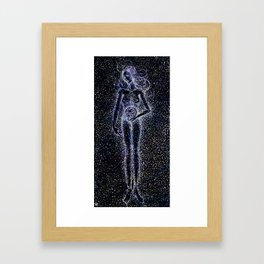 Nuit - The Starry Goddess Framed Art Print