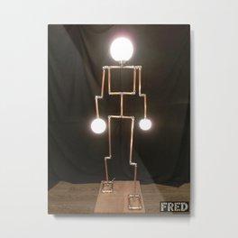 Lamp Man - FredPereiraStudios_Page_05 Metal Print
