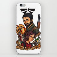 the last of us iPhone & iPod Skins featuring The Last of Us by Warbunny