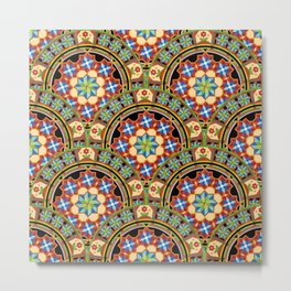 Westminster Mandala Allover Metal Print