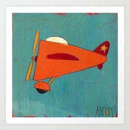 Air-Plane Art Print