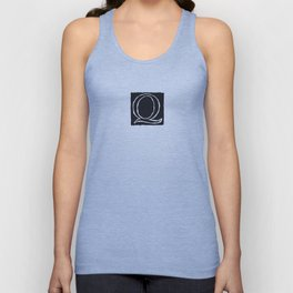 The Alphabetical Stuff - Q Unisex Tank Top