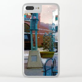 Fractured Clear iPhone Case