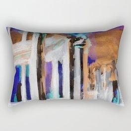 Carlos V Palace Granada Rectangular Pillow