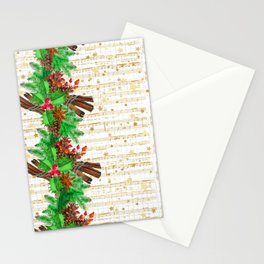 Christmas pine cones #3 Stationery Cards