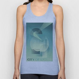 City of Lights Unisex Tank Top