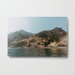 Amalfi coast Positano | Travel Photography Italy Photo Print Metal Print