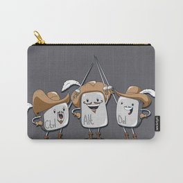 The Three Mus-key-teers Carry-All Pouch