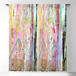 Colorful Bohemian Abstract 1 Blackout Curtain