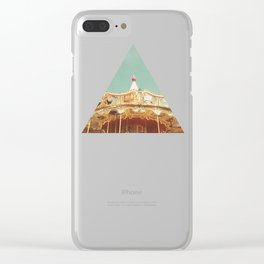 Carousel Lights Clear iPhone Case
