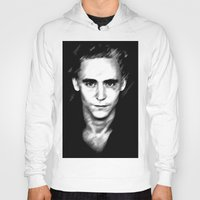 tom hiddleston Hoodies featuring Loki (Tom Hiddleston) by Olive in Pinkland