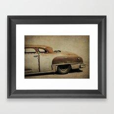 Rusty Chrysler De Soto Framed Art Print