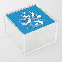 Lost Sock Party Acrylic Box