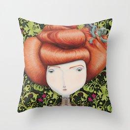 Lady Amelia Throw Pillow