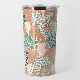 Succulent's Tiny Pots Travel Mug