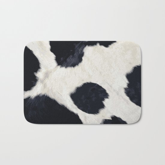 Cow Skin Bath Mat