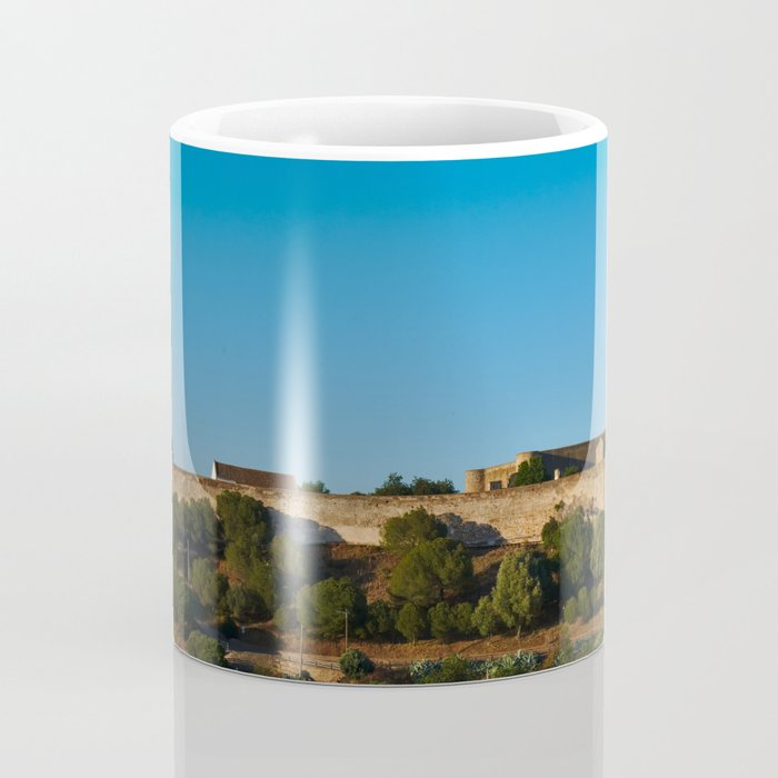 Castle of Castro Marim from the hill Coffee Mug