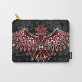 Eagle Tattoo Style Haida Art Carry-All Pouch