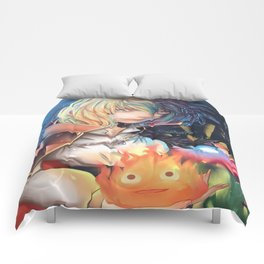 Howl Pendragon - Howl's Moving Castle Comforters
