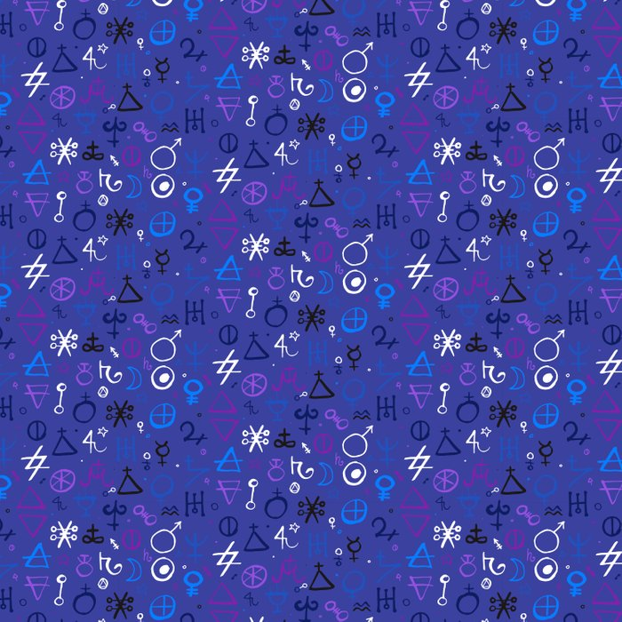 Witchcraft mystic signs Comforters