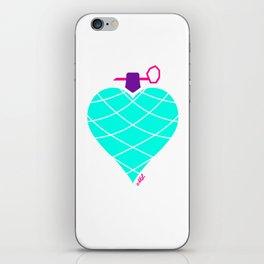 Love Is Da Bomb! iPhone Skin