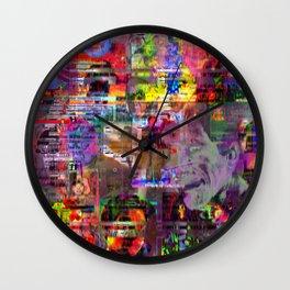 Here We Go Again Wall Clock