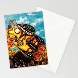 Rocket Bike Stationery Cards